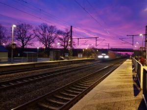Bahnhofsromantik von Patrick Ewald, Foto aus Friesack
