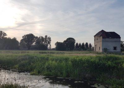 Bei der ehemaligen Badeanstalt am Kanal von Christoph Köpernick, Foto aus Friesack