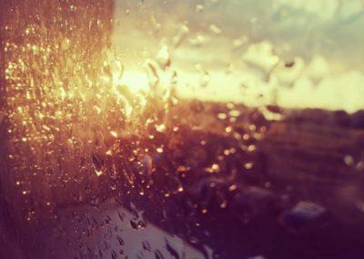 Die Sonne und der Regen  sind vereint. von Eileen Köpge, Foto aus Friesack