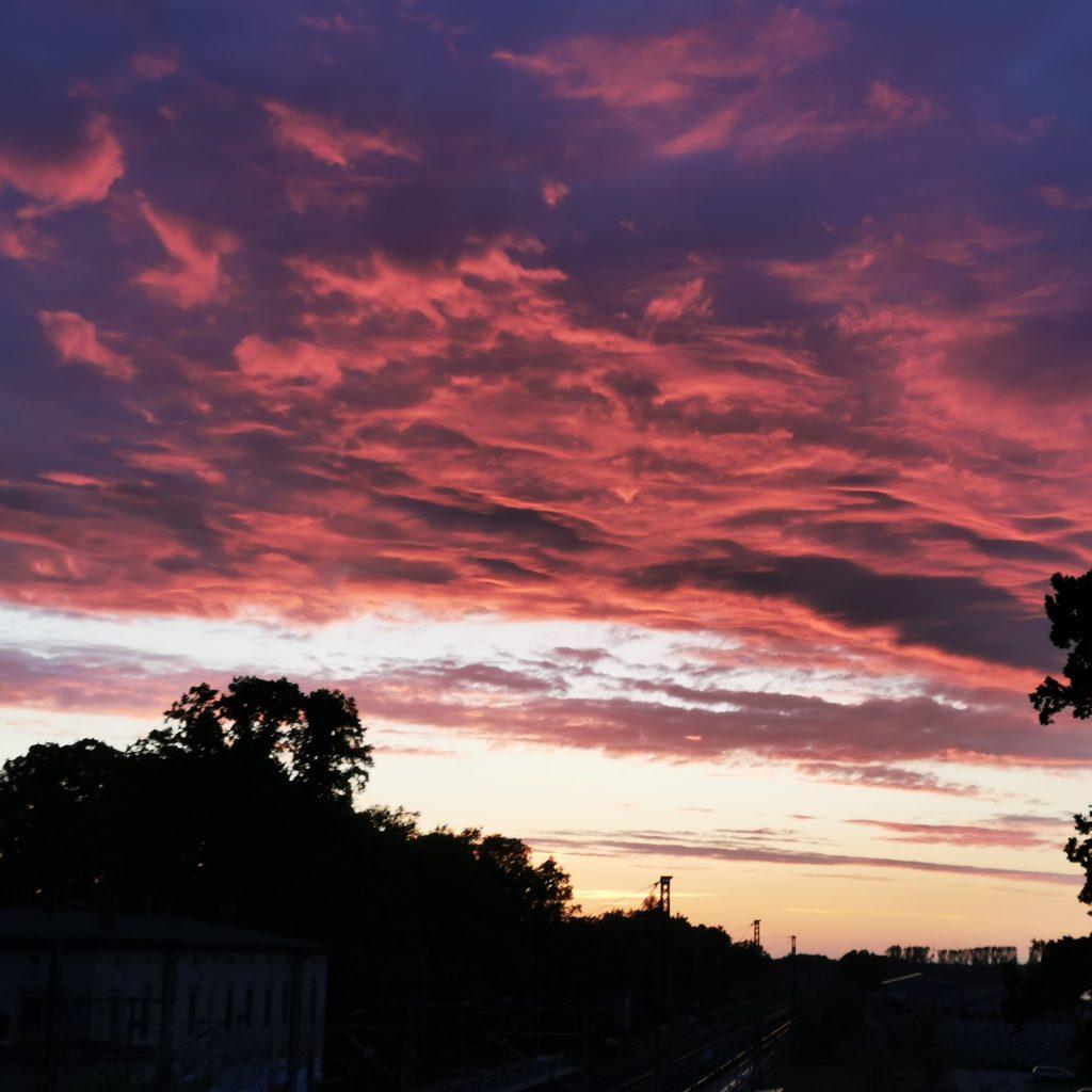Fliederfest Wolken von Mathias Friese, Foto aus Friesack