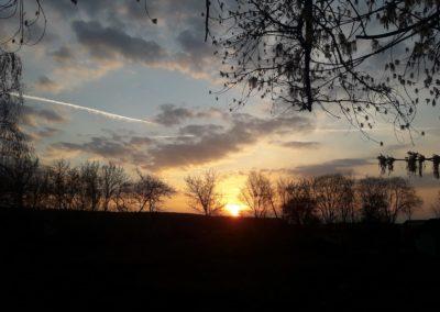 Ist das nicht ein schöner Blick? Das foto stammt aus Vietznitz das Foto wurde bei Sonnenuntergang gemacht von Ingo Stoll, Foto aus Friesack