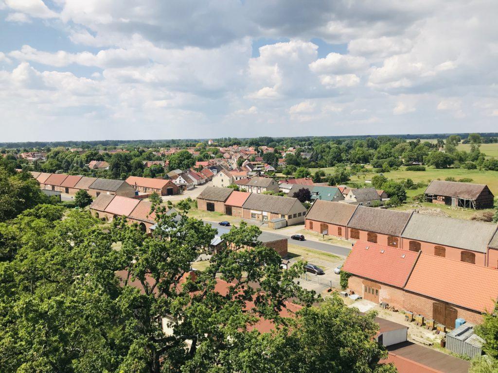 Scheunenviertel von Christoph Bajohr, Foto aus Friesack