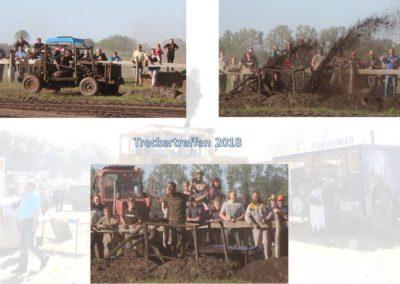 """""""Schlammschlacht"""" beim Treckertreffen 2018 von Lothar Boetig, Foto aus Friesack"""