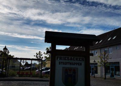 Unser Marktplatz von Mathias Friese, Foto aus Friesack