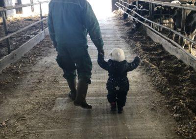 Zu Besuch auf dem Bauernhof von Christina Gerhardi, Foto aus Friesack